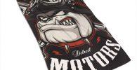 Toalla bulldog motorista microfibra 30x70cm