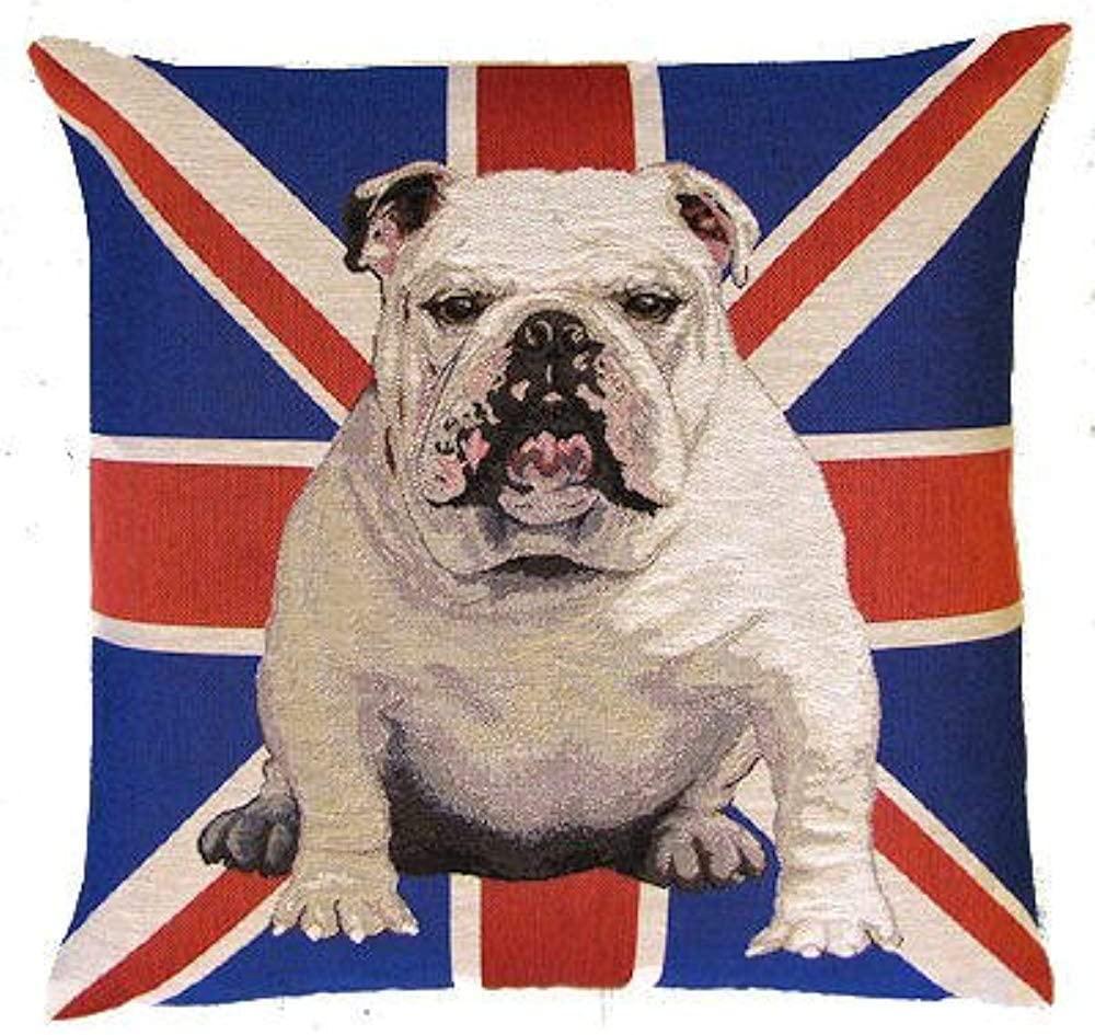 funda de cojin de bulldog ingles cojines de bulldog ingles cojin bulldog english bulldog cushion