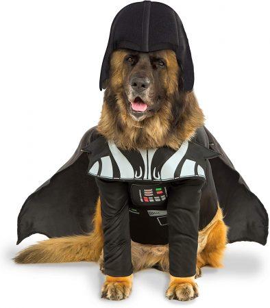 disfraz para perros star wars bulldog ingles darth vader