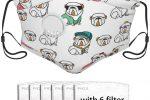 Mascarilla bulldog ingles con 6 filtros