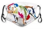 Mascarilla bulldog ingles con filtro carbono activado