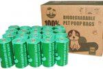 Bolsas de Basura Perros 100% Biodegradables Extra Gruesa 300uds