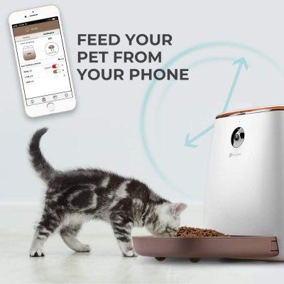 Alimentador Houzetek con app smartphone